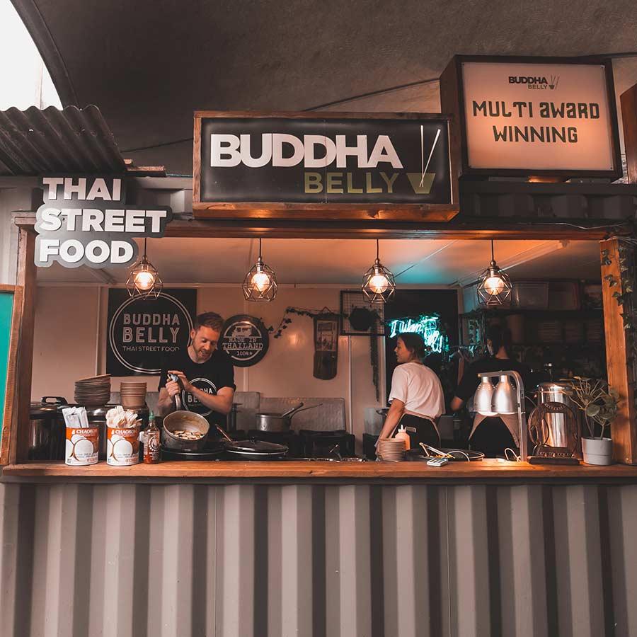 thai food at digbeth dining club